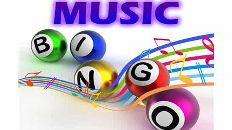 Music Bingo (Top 40- all decades mix) - Online