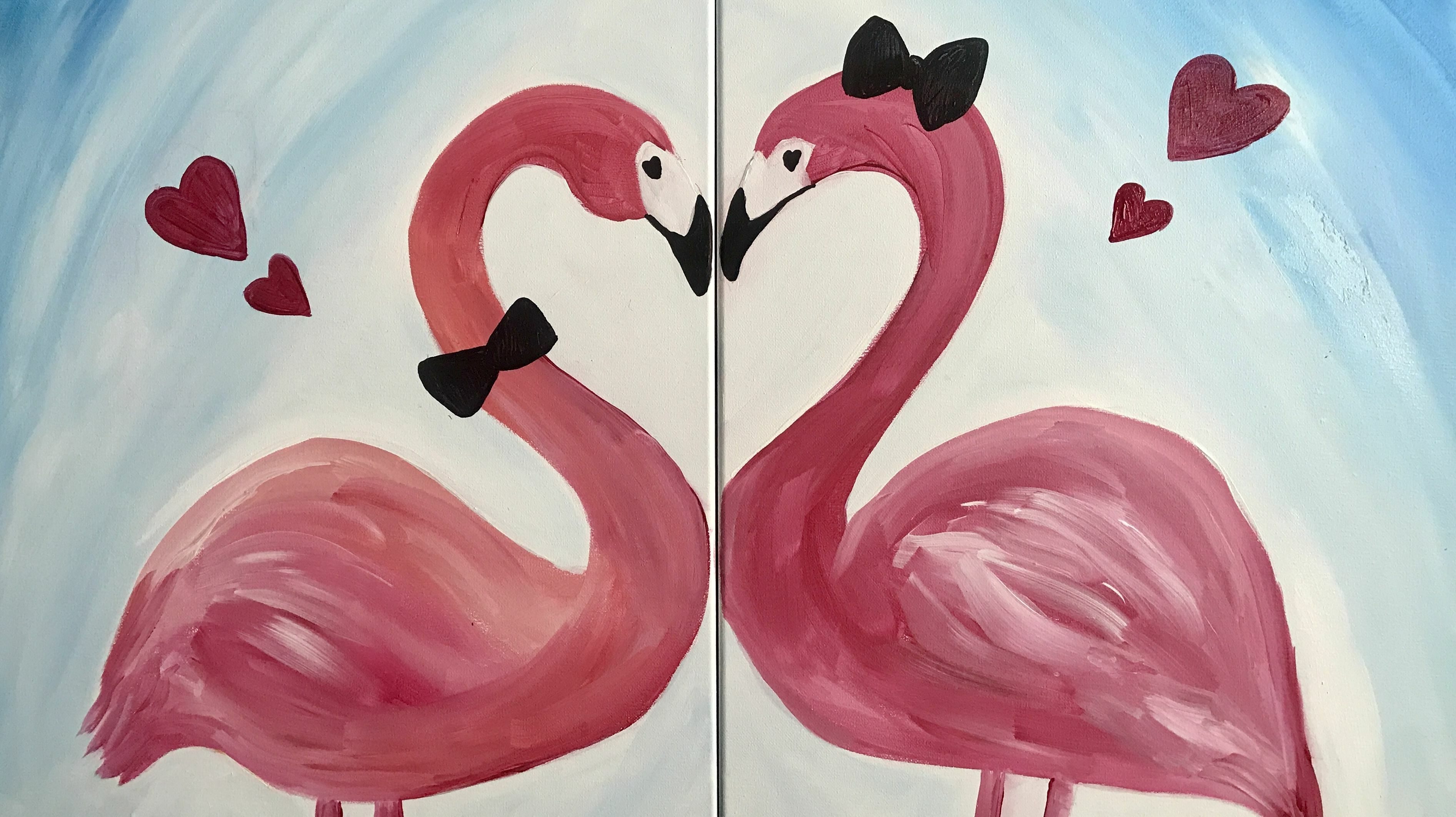 Virtual Valentine's Day Painting Party