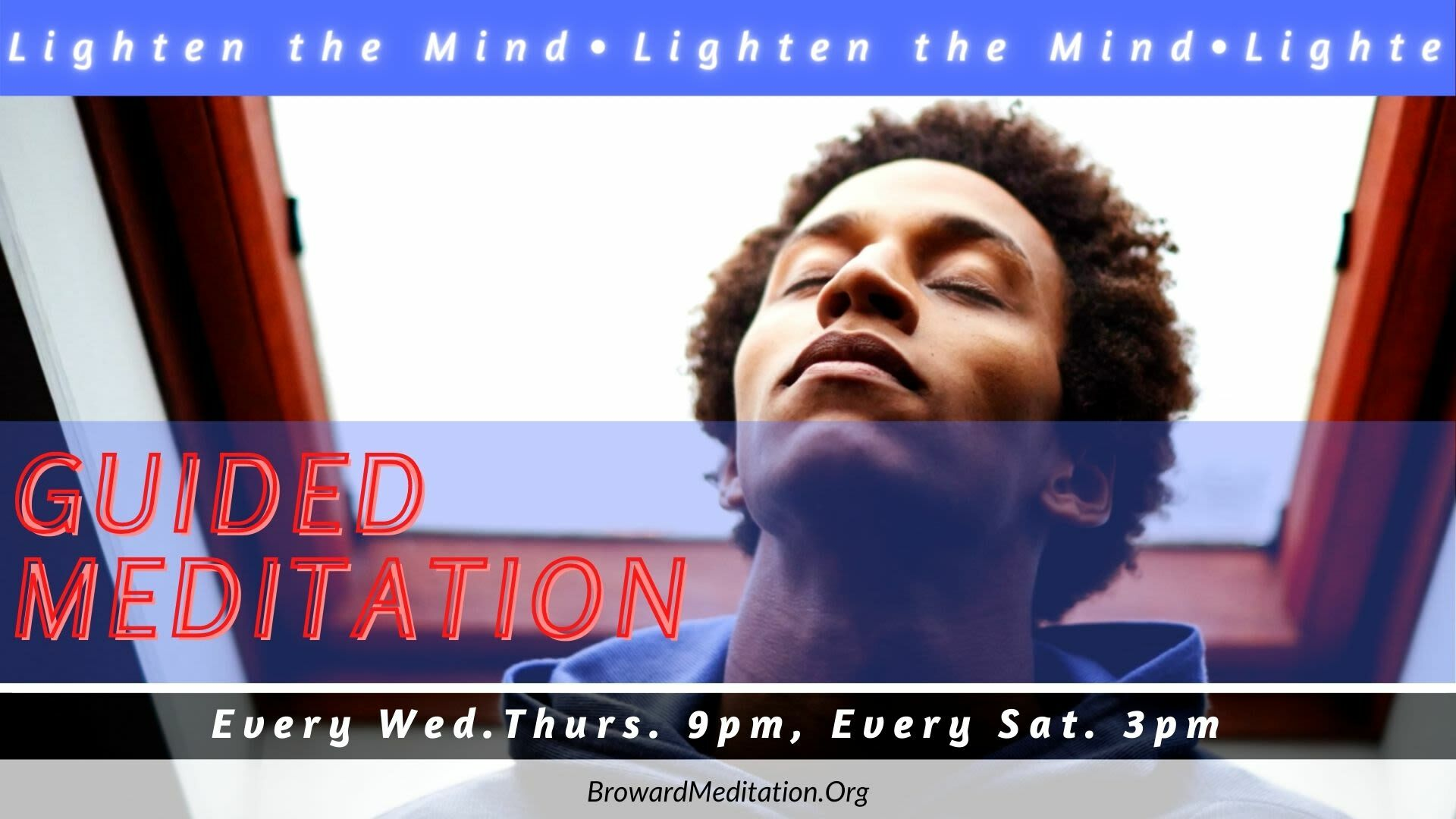 Free Guided Meditation Experience: Lighten the Mind -- Online