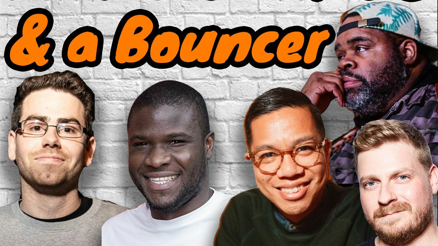 Four Comedians & a Bouncer! Live Stream Comedy Show