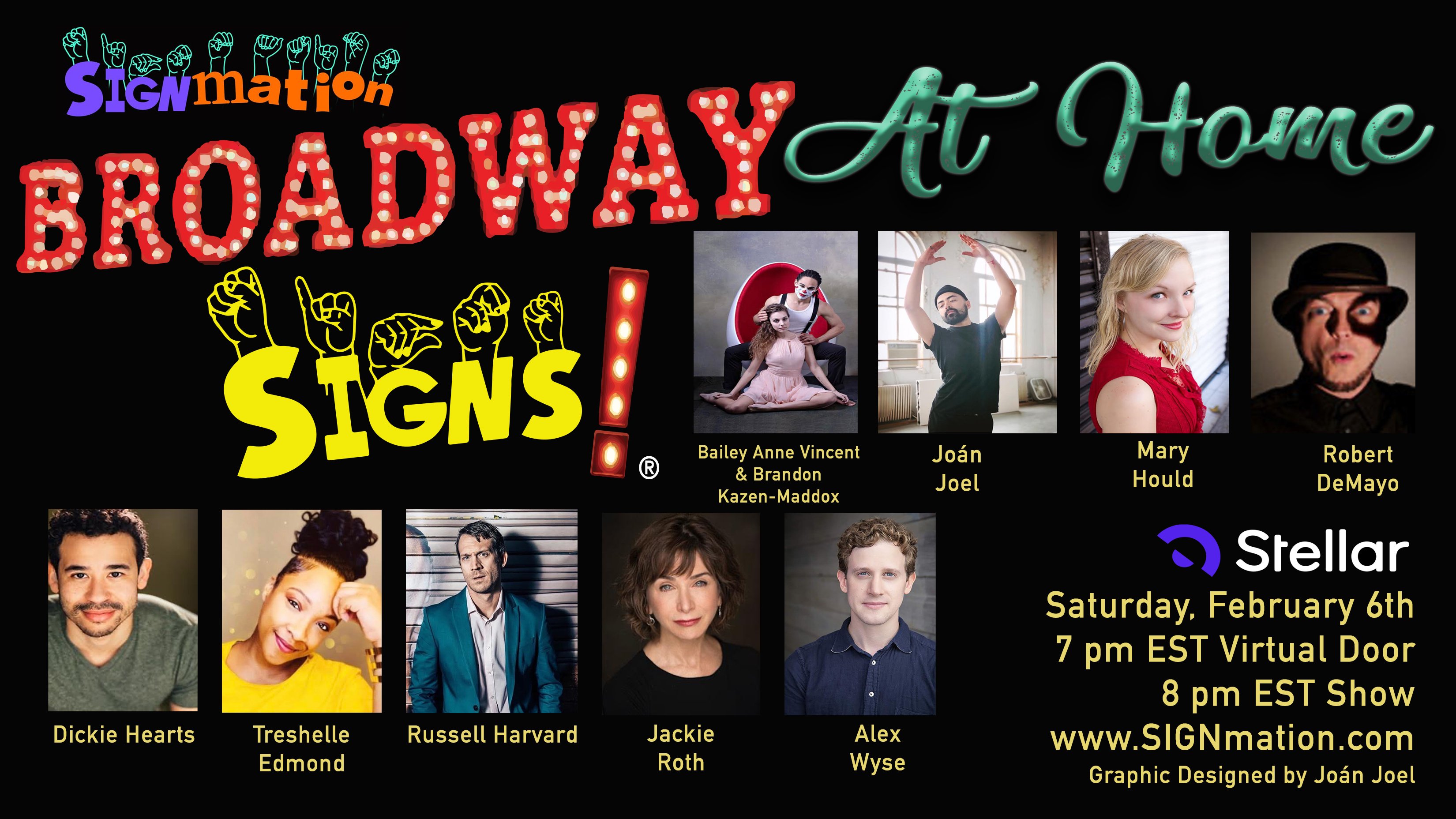 """""""SIGNmation's Broadway SIGNS! At Home"""" -- Online"""