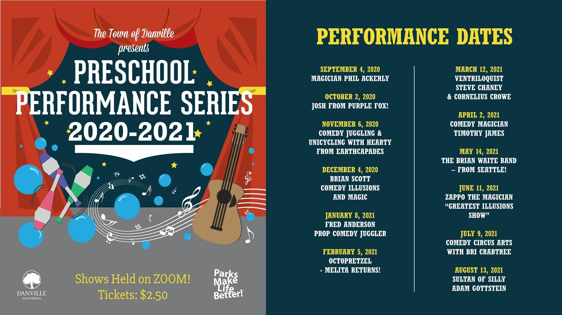 Preschool Performance Series Online: Melita from Octopretzel