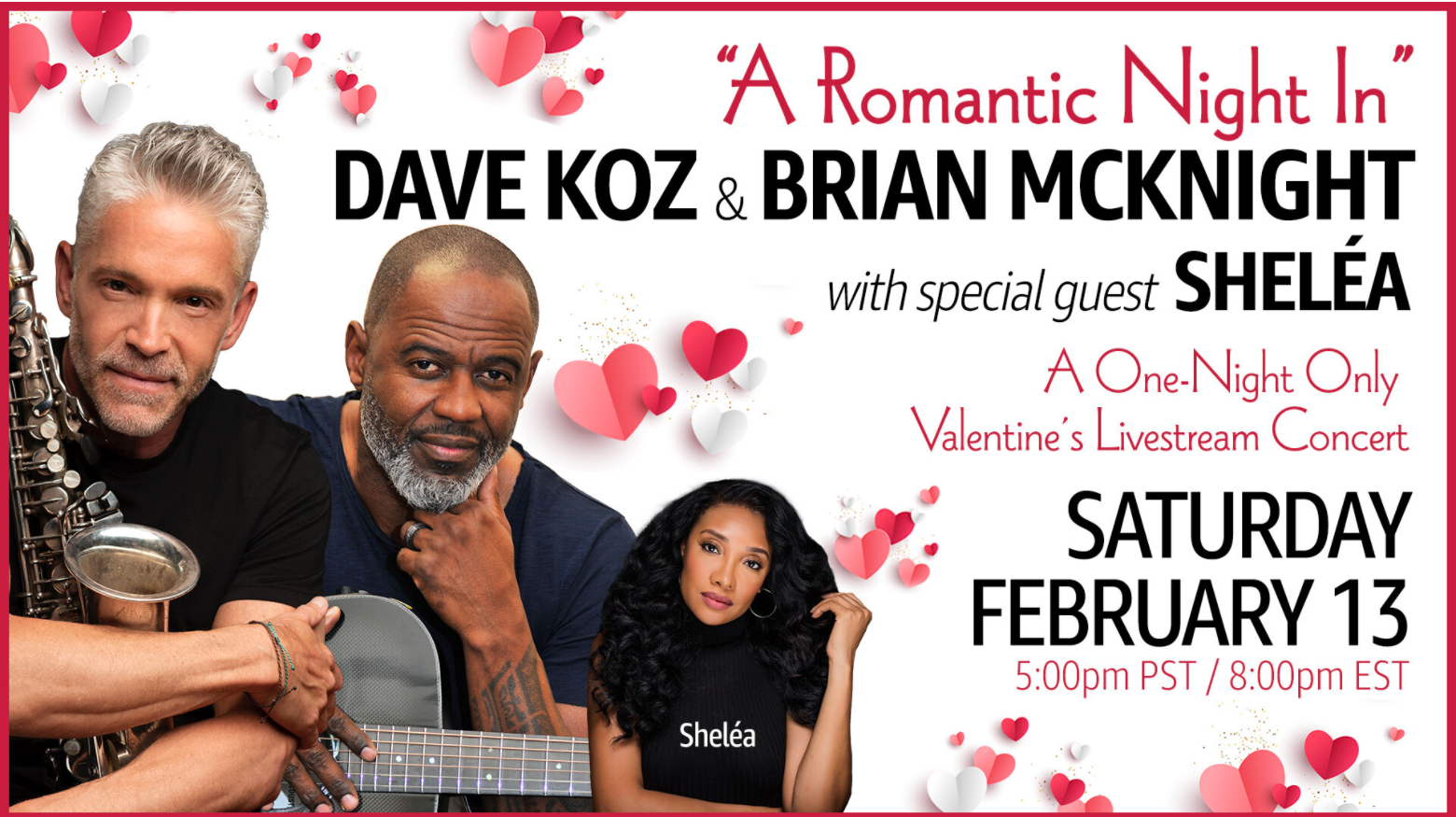 A Romantic Night In with Dave Koz and Brian McKnight - Online