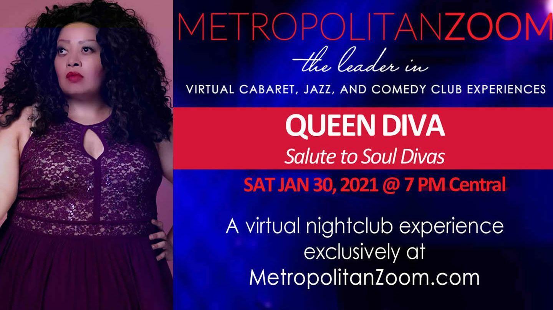 """Queen Diva ~ """"Salute to Soul Divas"""" - Online"""