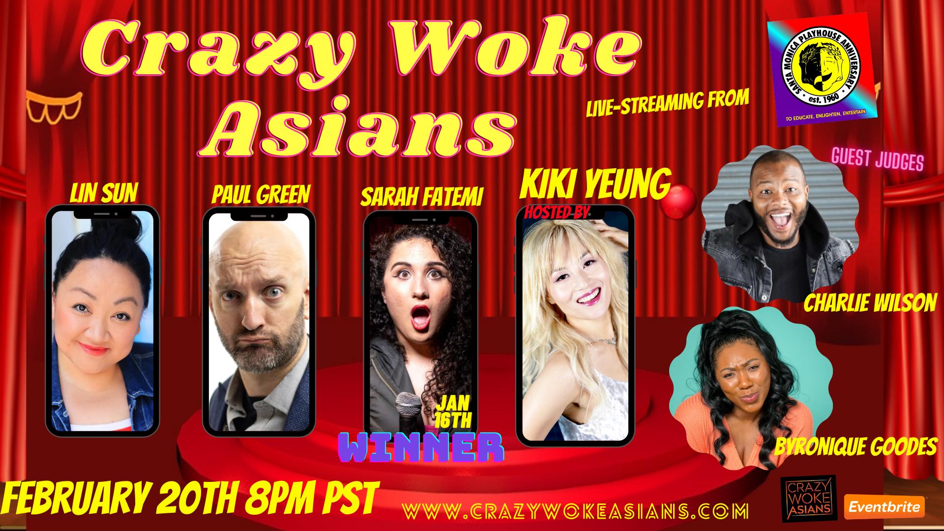 Crazy Woke Asians Comedy Competition Livestream