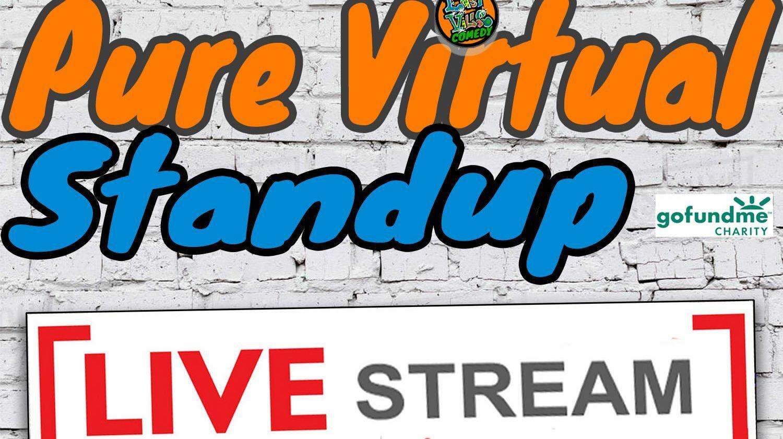 Pure Virtual Standup - Stand-Up Comedy Live-Stream feat. Lauri Kilmartin!
