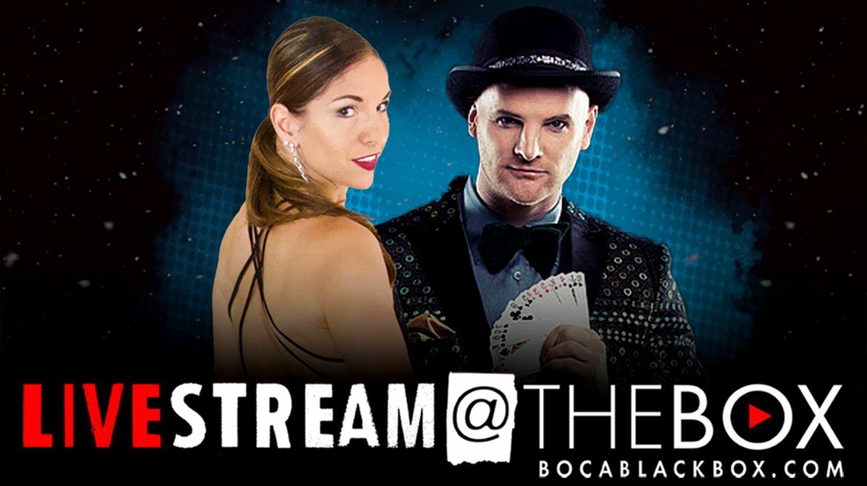 "Direct from Broadway: Dizzy's Magic & Mayhem | ""Livestream @ The Box"""