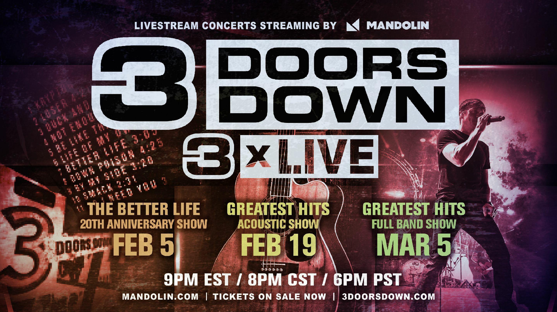 3 Doors Down - 3 X Live -Online