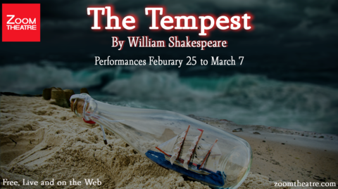 """The Tempest"" Presented by Zoom Theatre — Online"