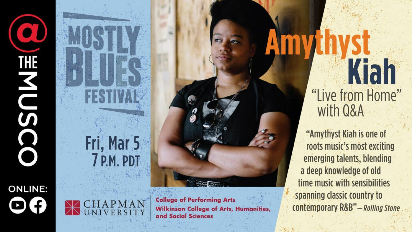 Amythyst Kiah: Live From Home – Online