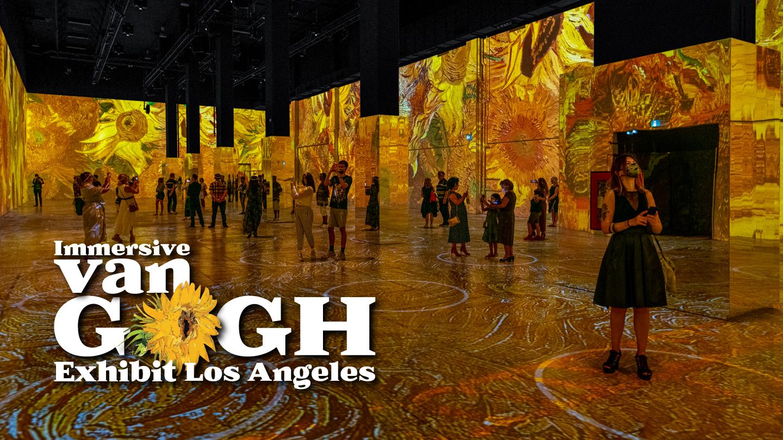 Immersive Van Gogh Exhibit Los Angeles