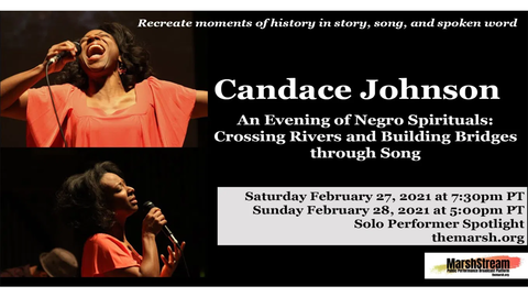 "Candace Johnson: ""An Evening of Negro Spirituals"" - Online"