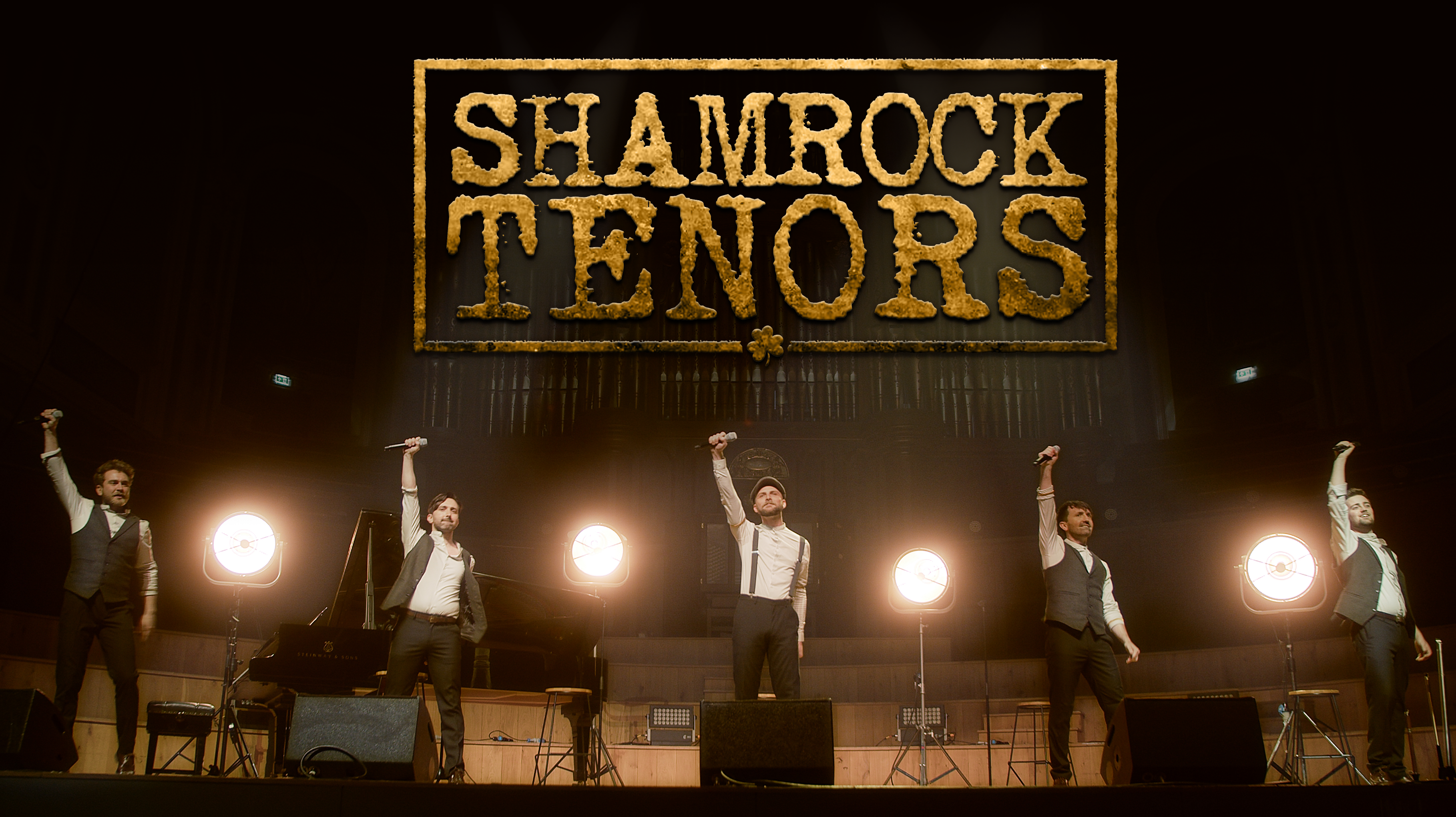 The Shamrock Tenors St Patrick's Day Concert live from Ulster Hall - Online