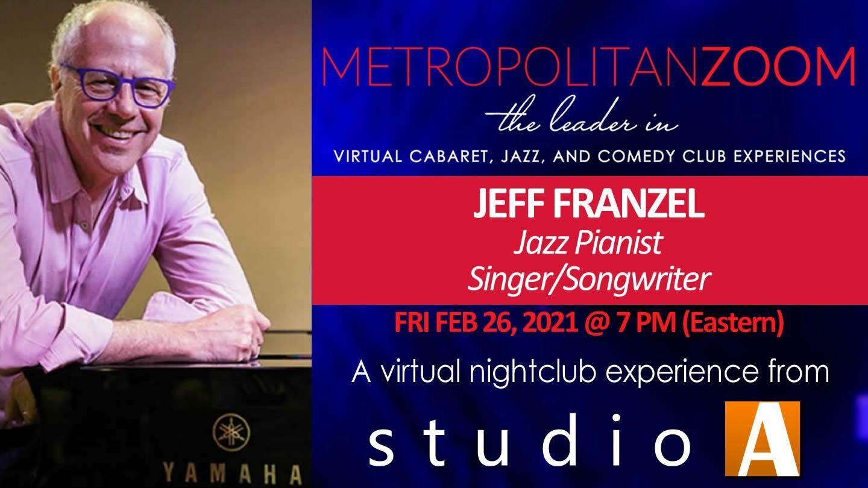 Jeff Franzel: Jazz Pianist / Songwriter / Performer - Online