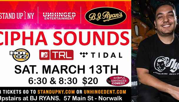 Unhinged Comedy presents: Cipha Sounds