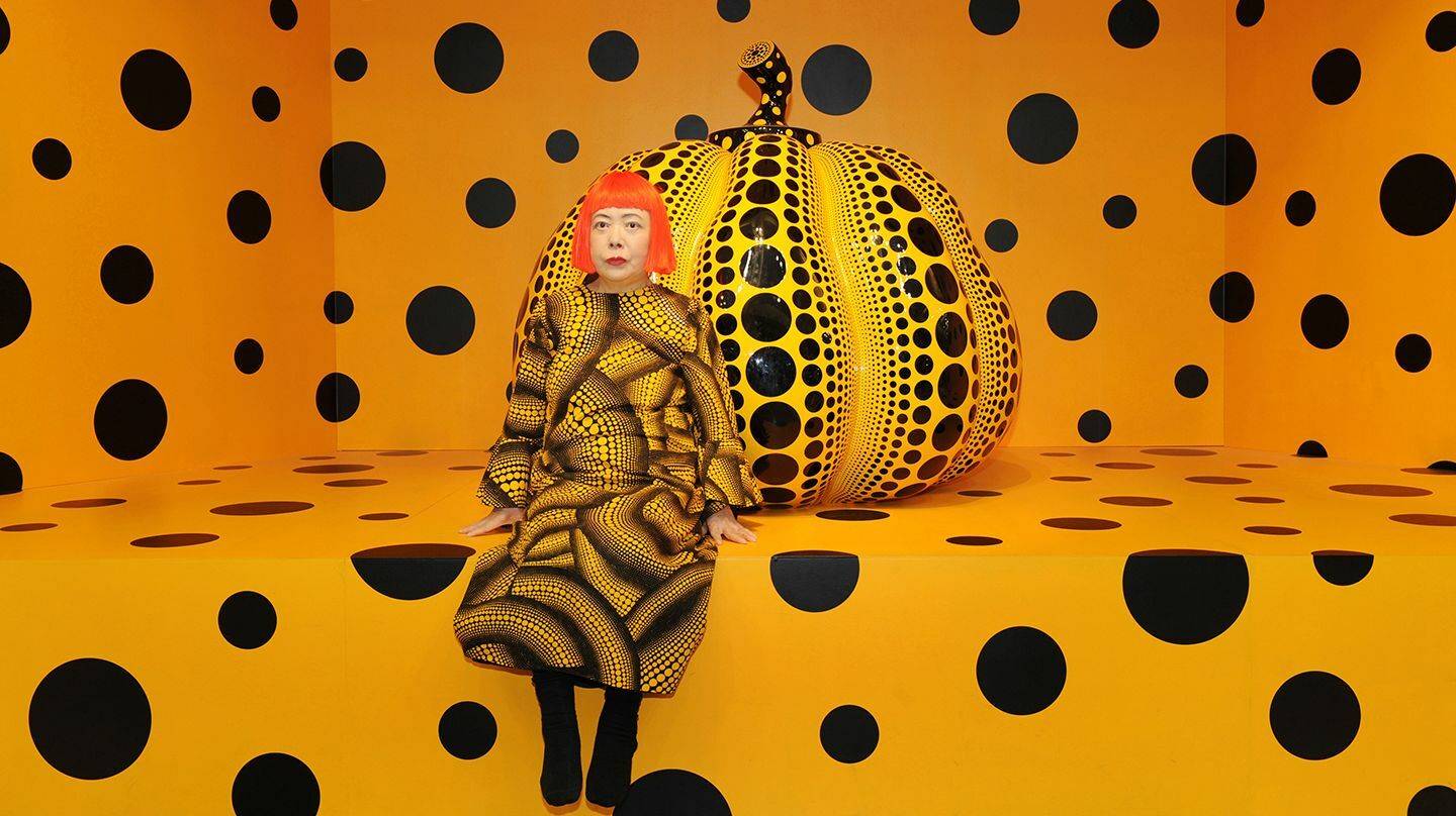 """KUSAMA: Cosmic Nature"" (April 10–October 31, 2021)"