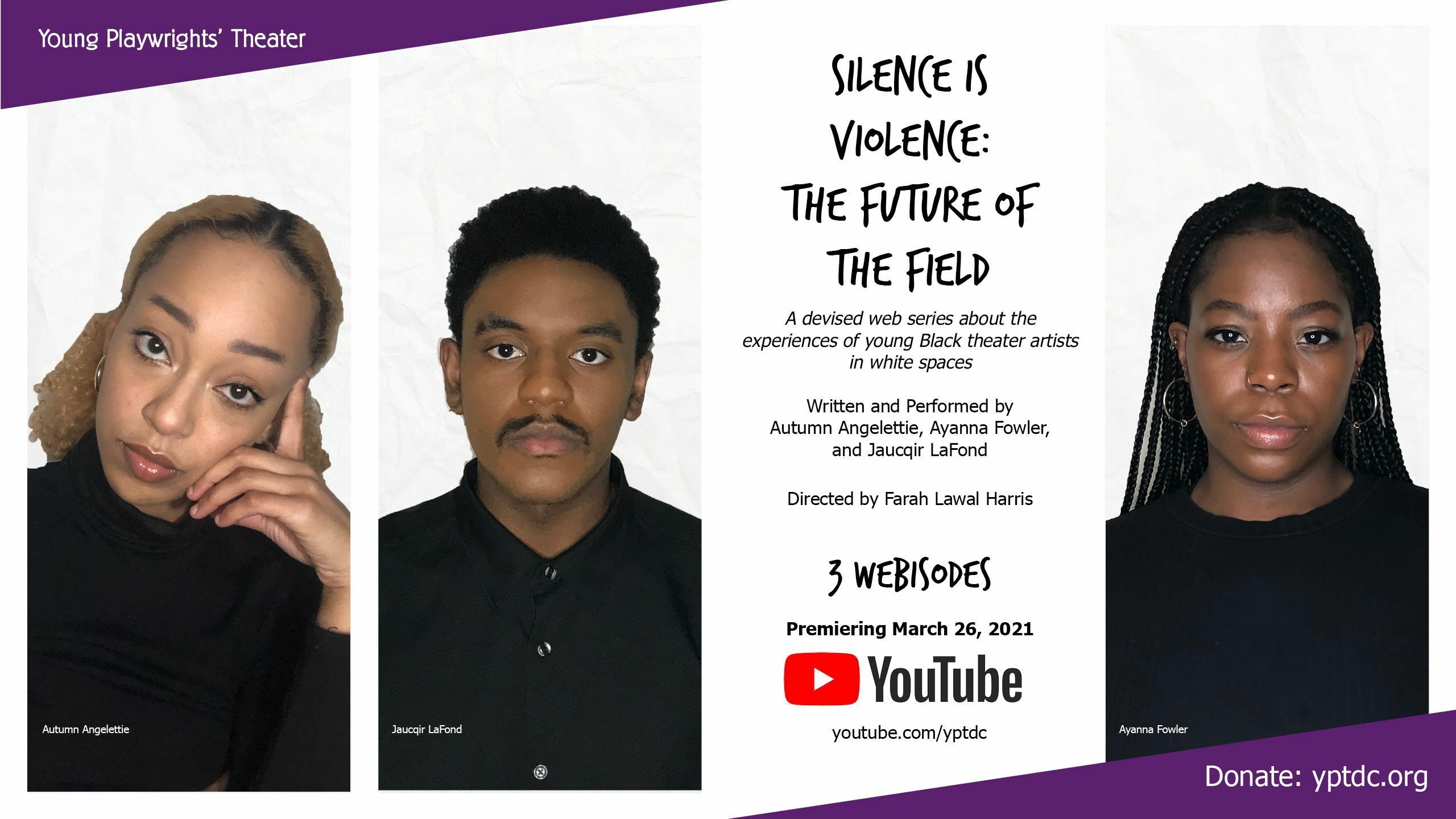 Silence is Violence: The Future of the Field (Web Series Premiere)