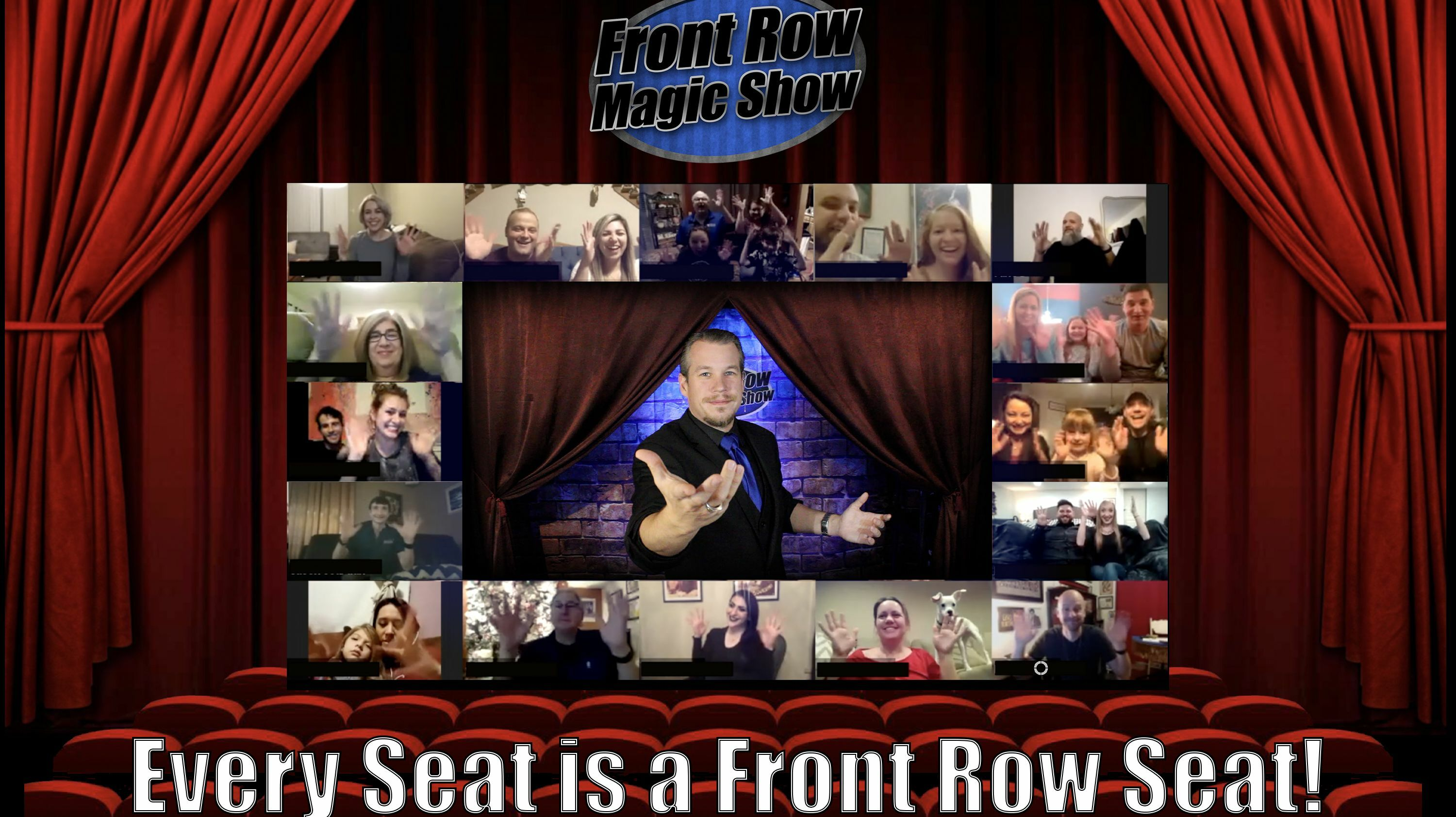 """""""Front Row Magic Show"""" - Online"""