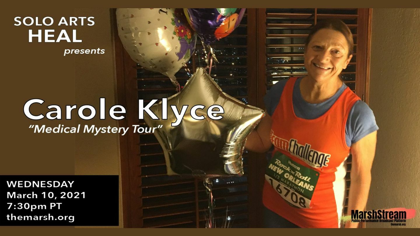 Solo Arts Heal with Carole Klyce - Online