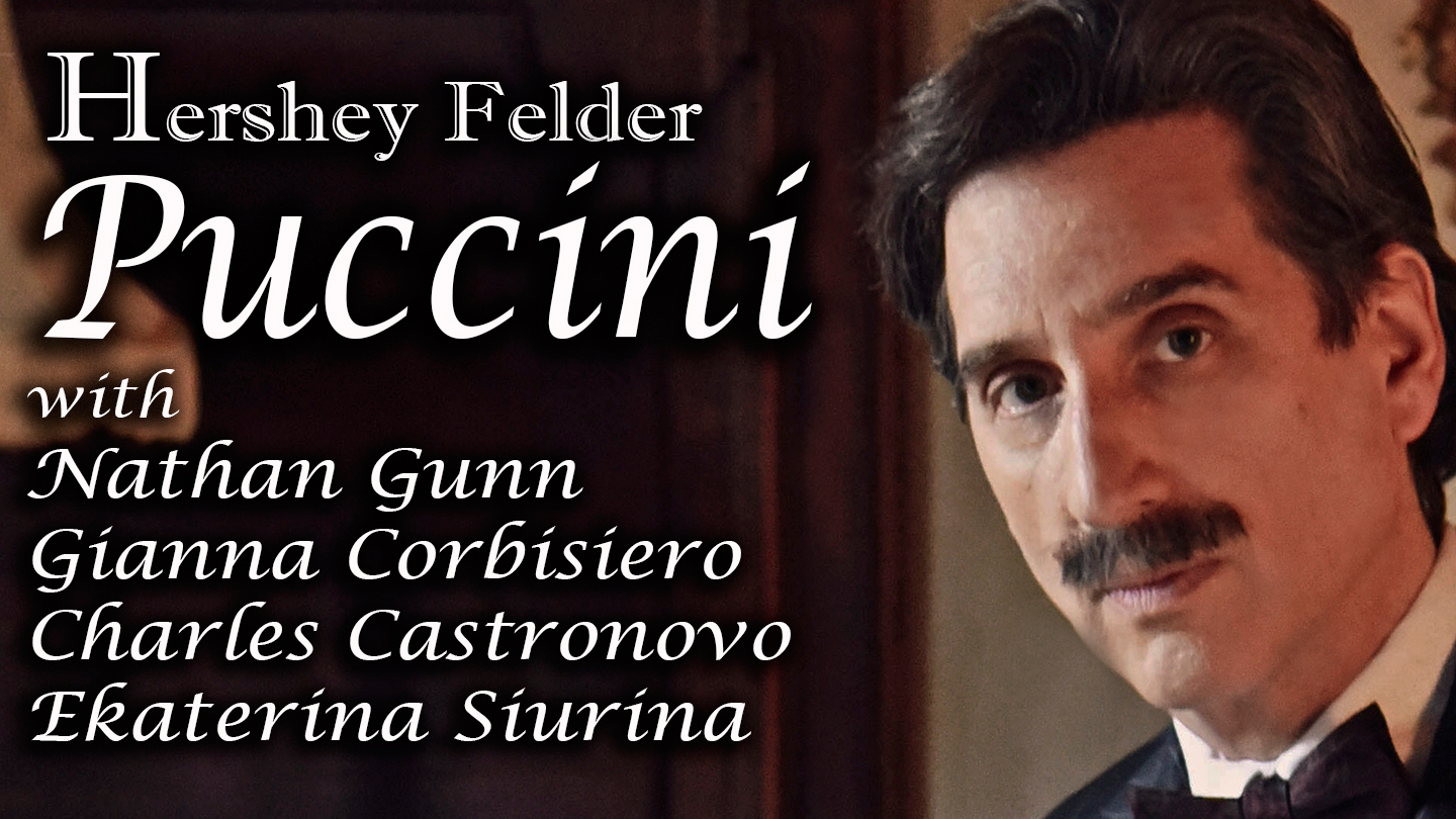 """""""Hershey Felder, PUCCINI"""" -- A Recording of the Livestreamed Musical Event from Florence"""