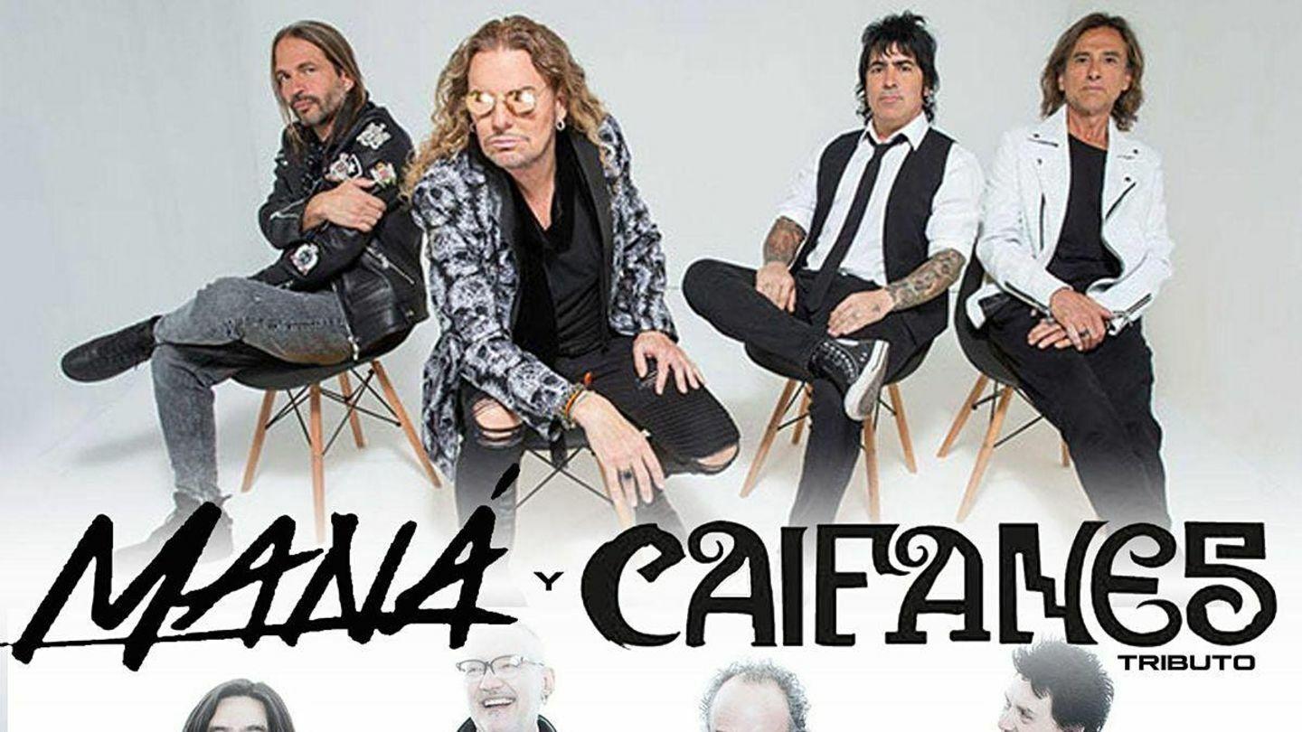 Noche de Rock en Espanol - Tribute To Mana & Caifanes