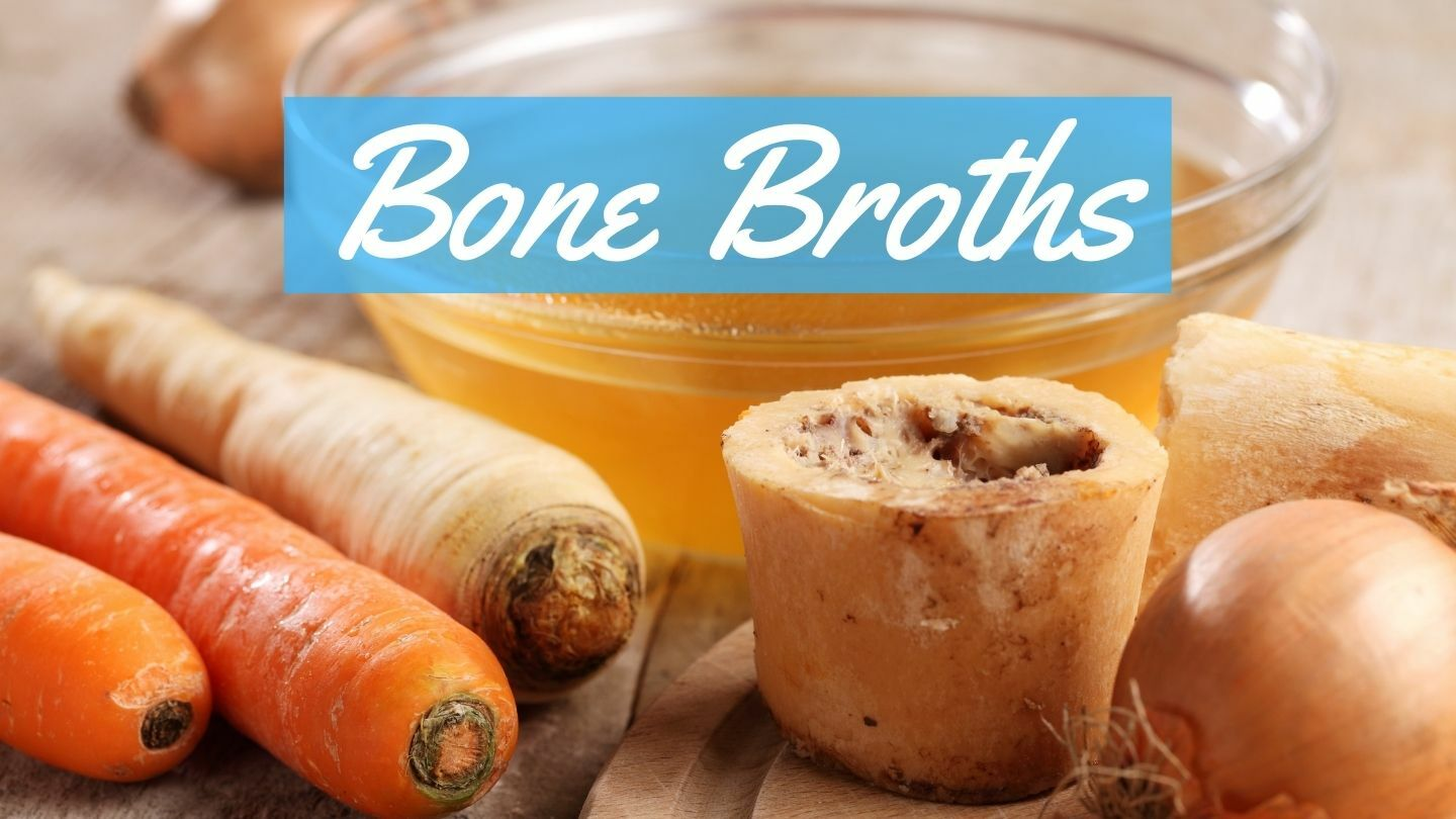 Make Healing Foods: Bone Broths - Online