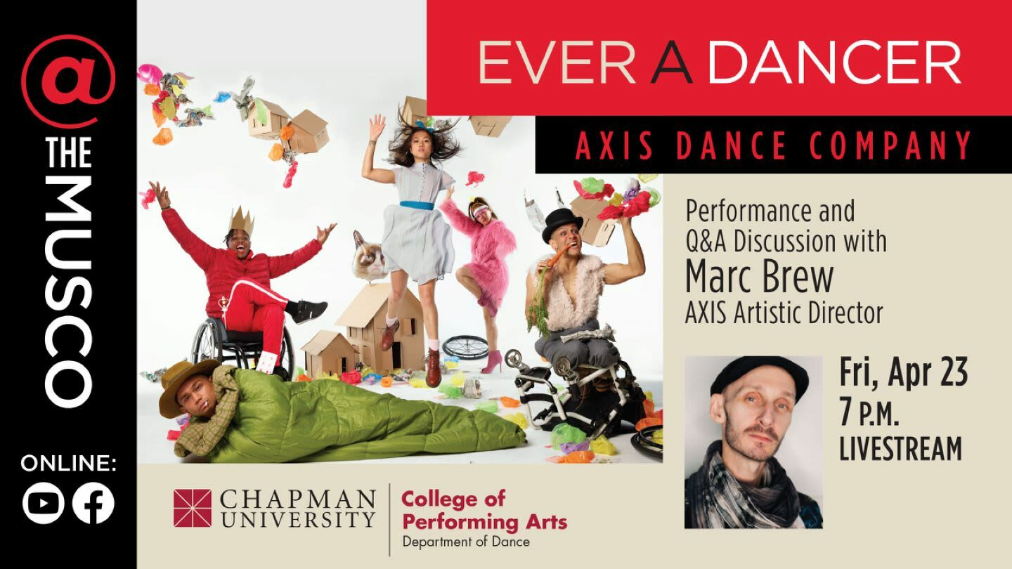 """""""Ever A Dancer"""": AXIS Dance Company -- Online"""