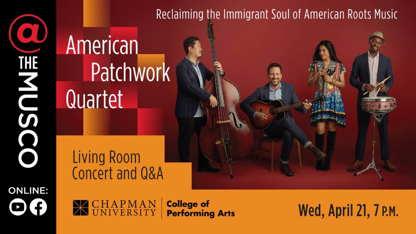 American Patchwork Quartet: Living Room Concert With Q&A