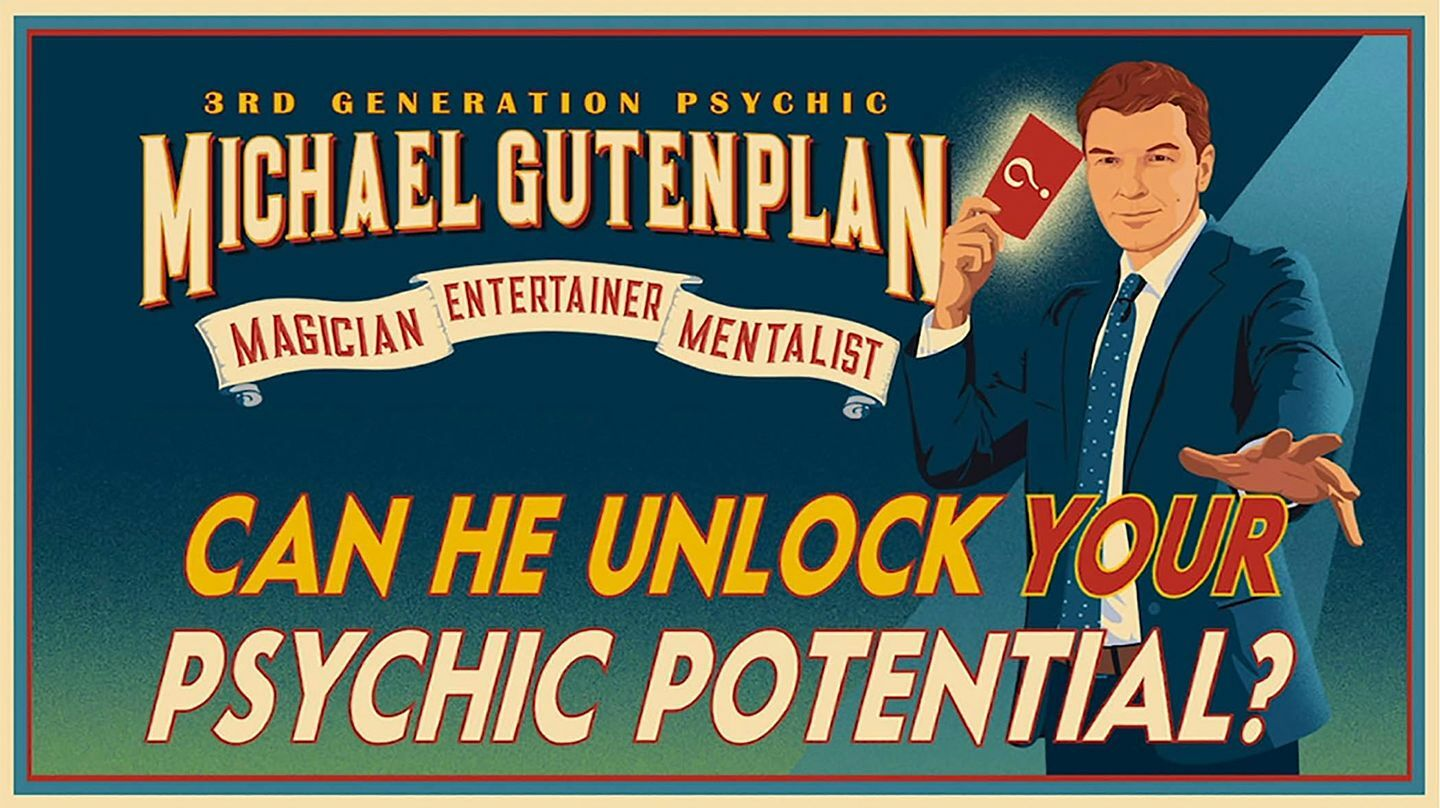 Michael Gutenplan: The Magic Mentalist - Online