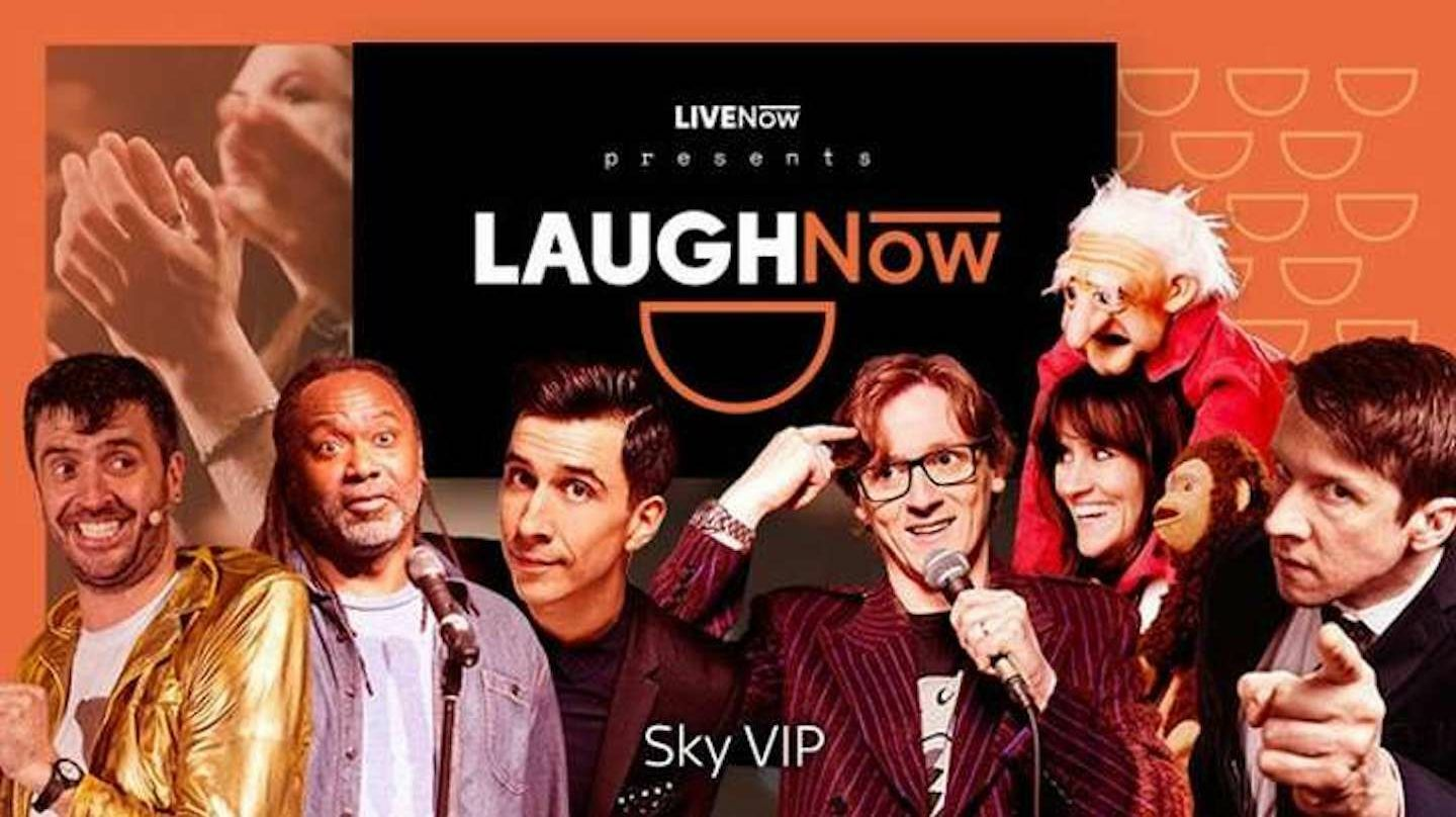 LAUGHNow Comedy Club Online