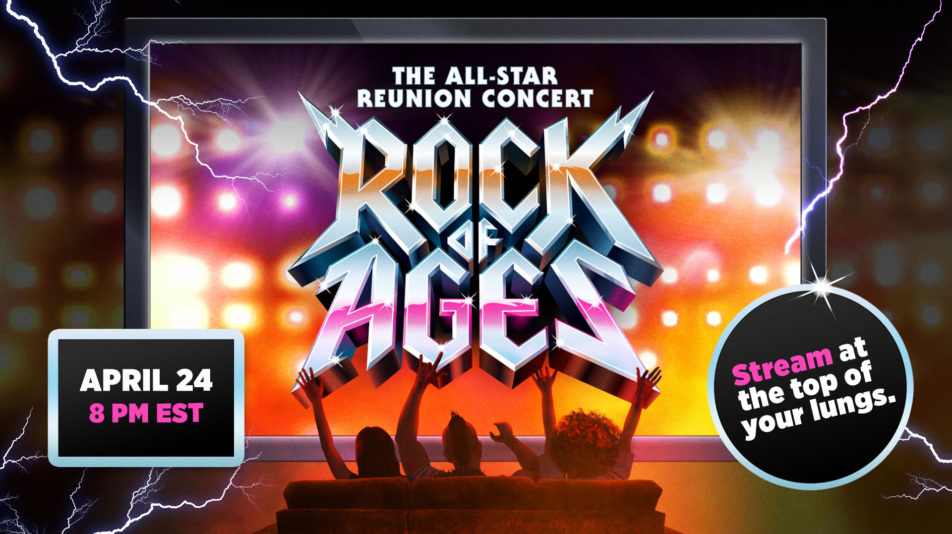 """""""Rock of Ages Live"""": All-Star Reunion Concert - Online"""