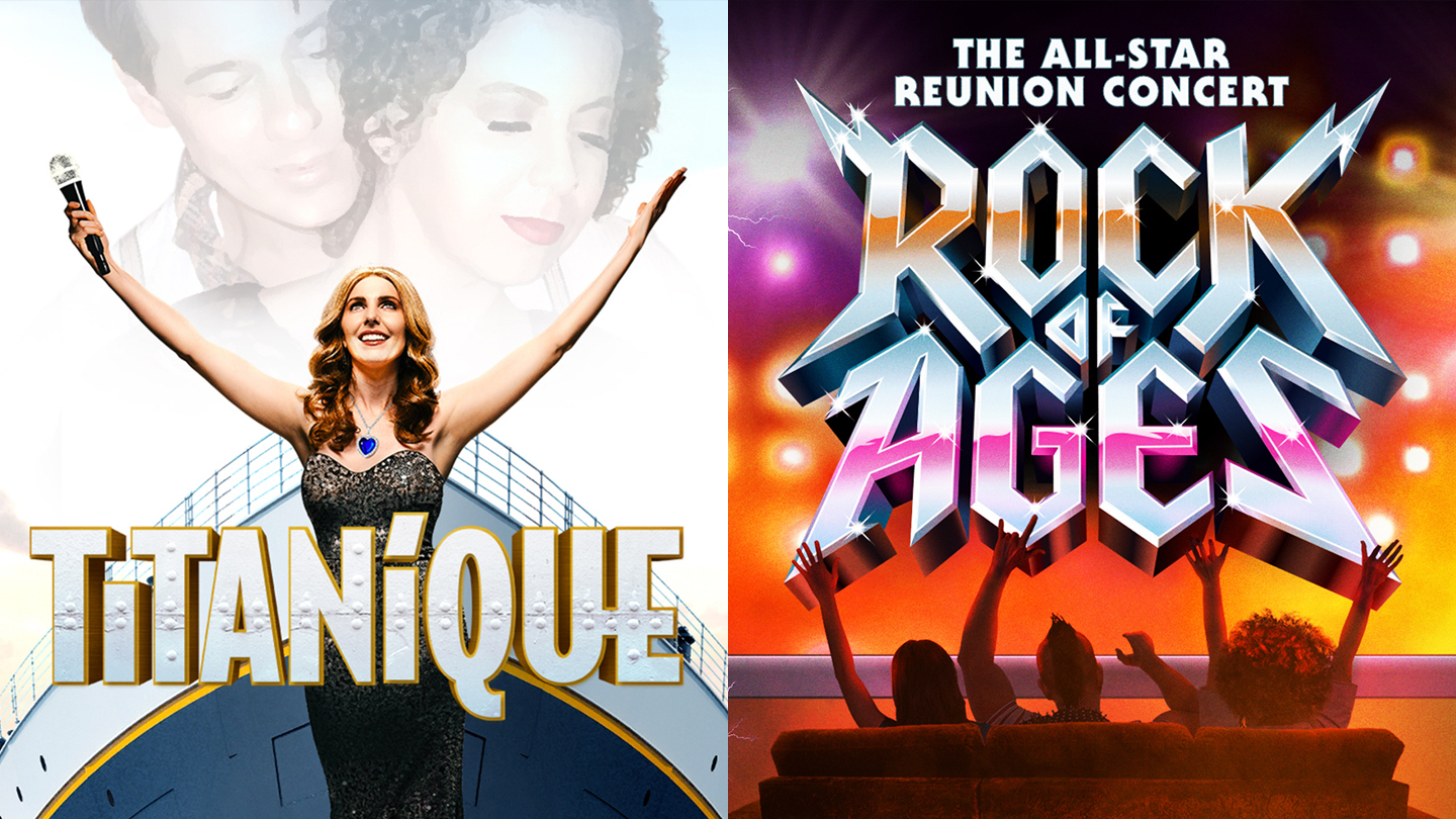 """""""Rock of Ages"""" & """"Titanique"""": Exclusive 2-for-1 Livestream Offer"""