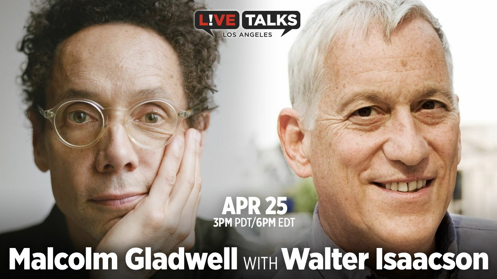 Malcolm Gladwell with Walter Isaacson - Online