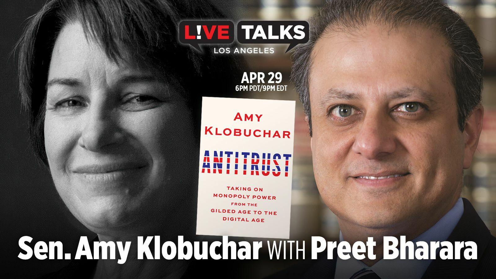 Senator Amy Klobuchar with Preet Bharara - Online