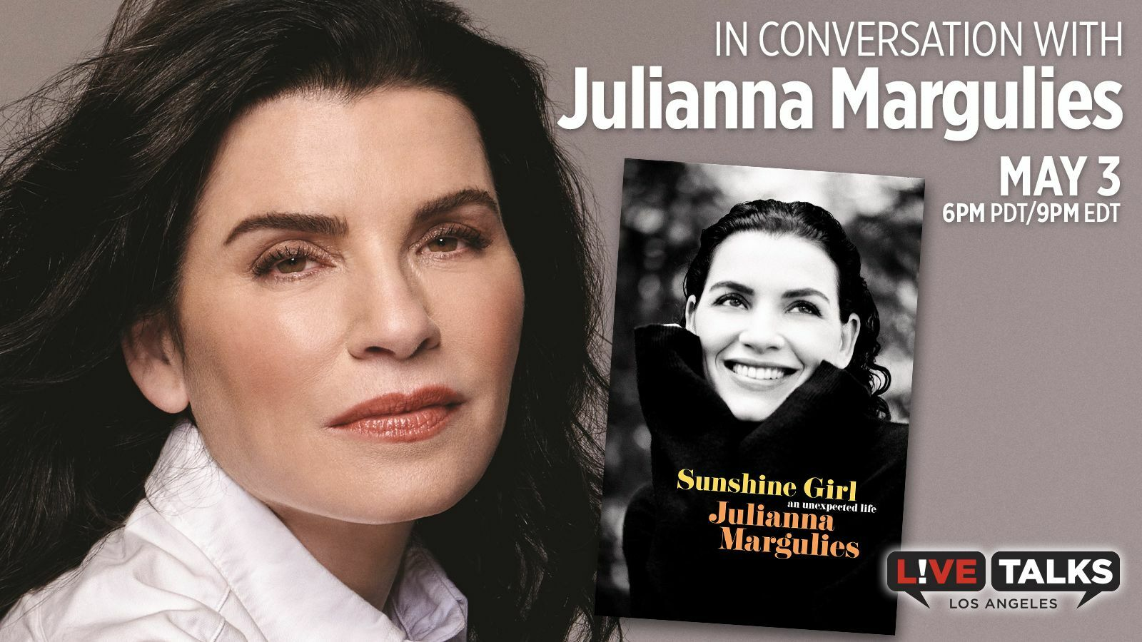 An Evening with Julianna Margulies - Online