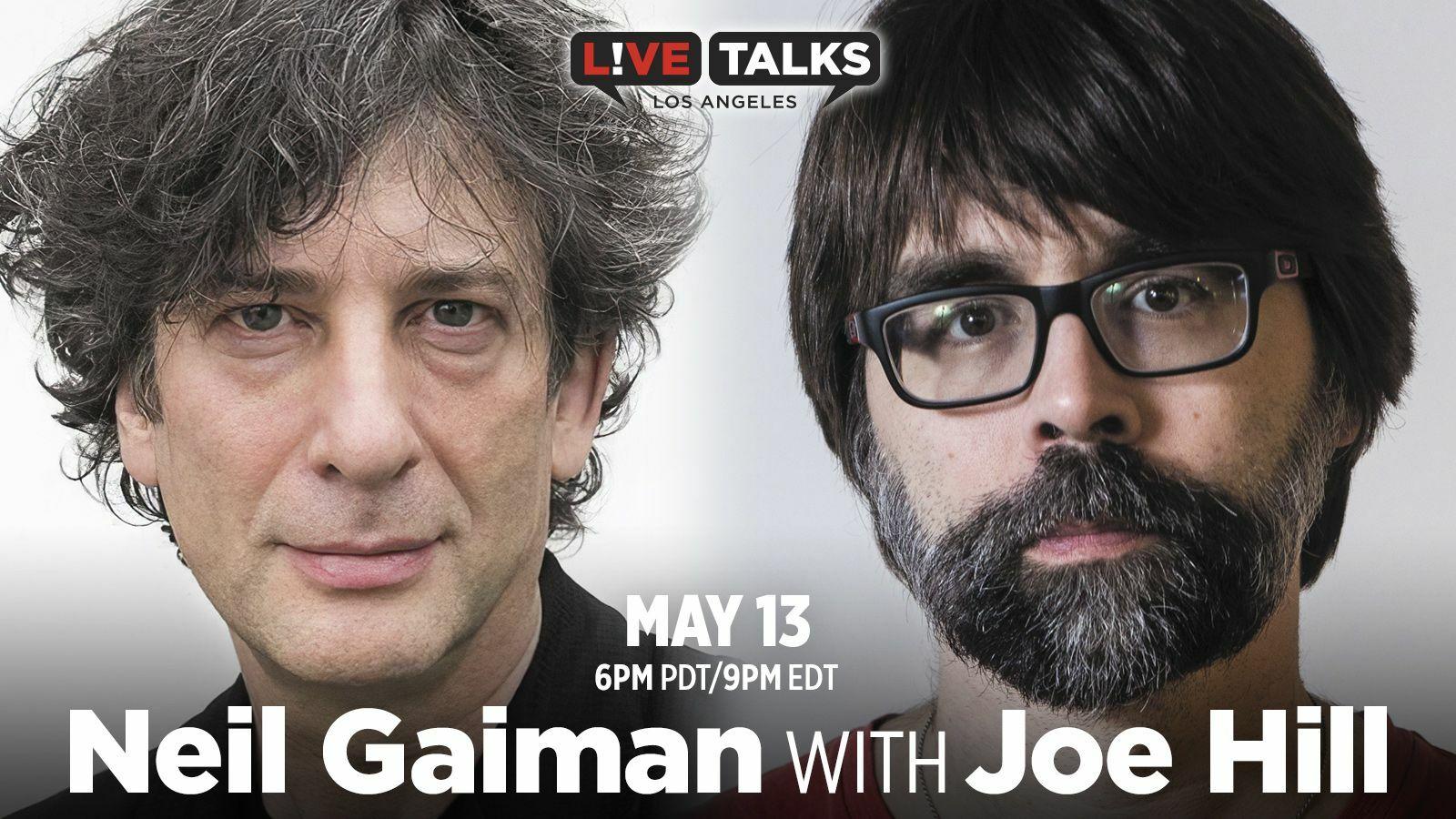 Neil Gaiman with Joe Hill - Online