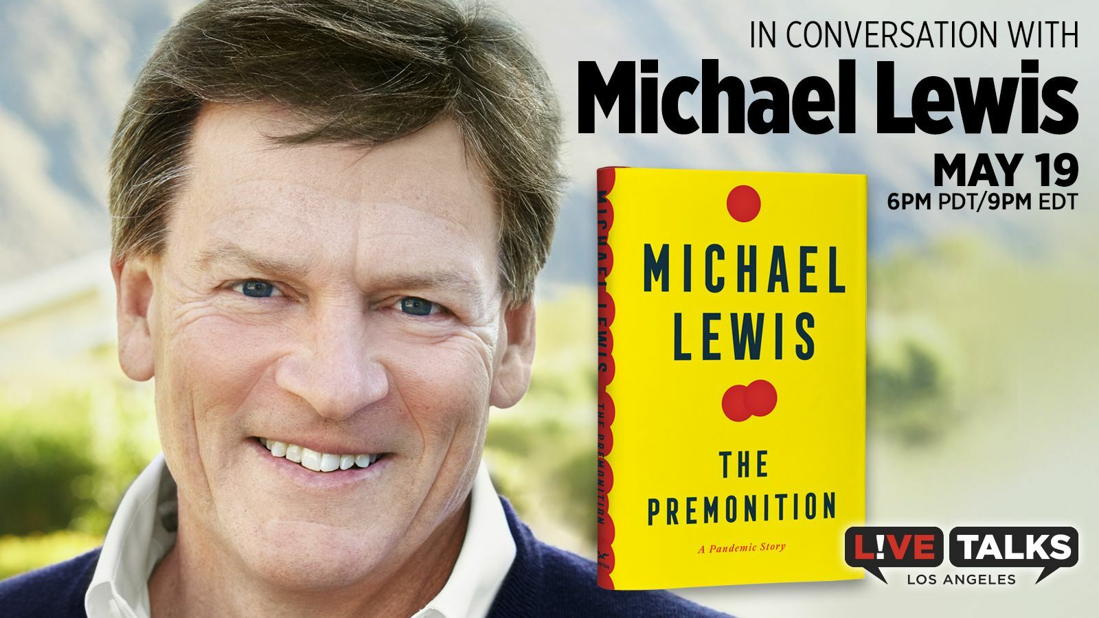 An Evening with Michael Lewis - Online