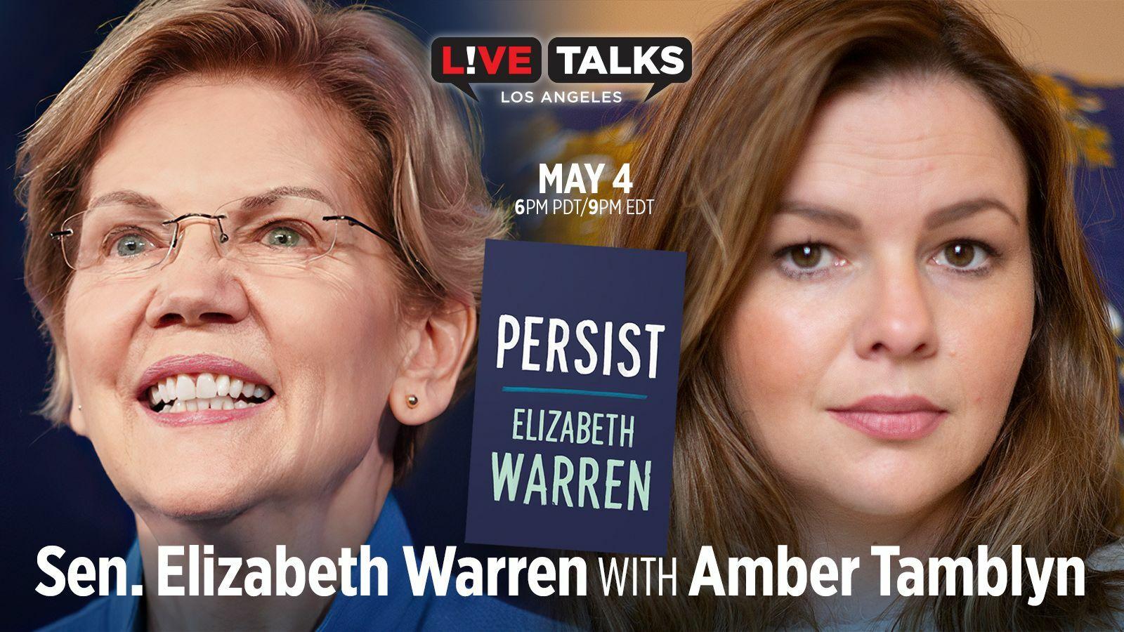 Senator Elizabeth Warren with Amber Tamblyn - Online