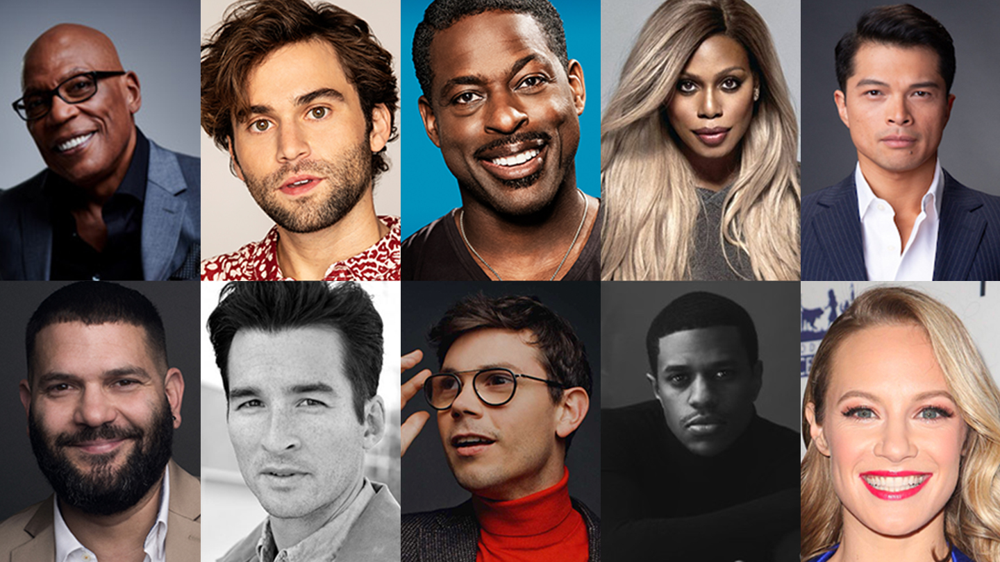 """Sterling K. Brown, Laverne Cox, Jeremy Pope and More in """"The Normal Heart"""" - Online"""