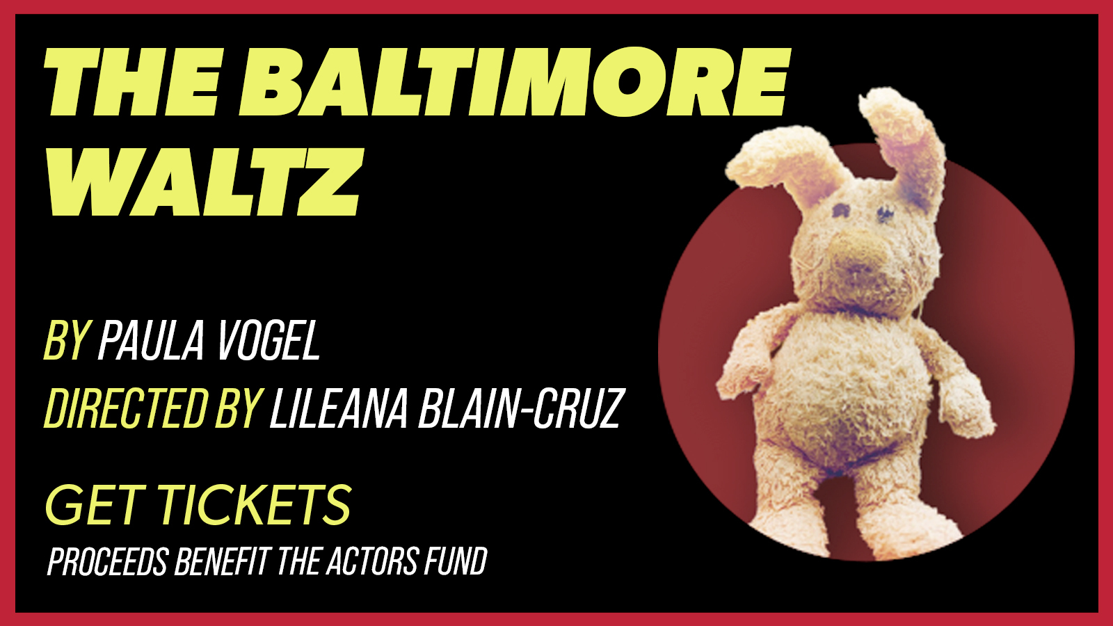 """Brandon Burton, Eric McCormick & Mary-Louise Parker in """"The Baltimore Waltz"""" - Online"""
