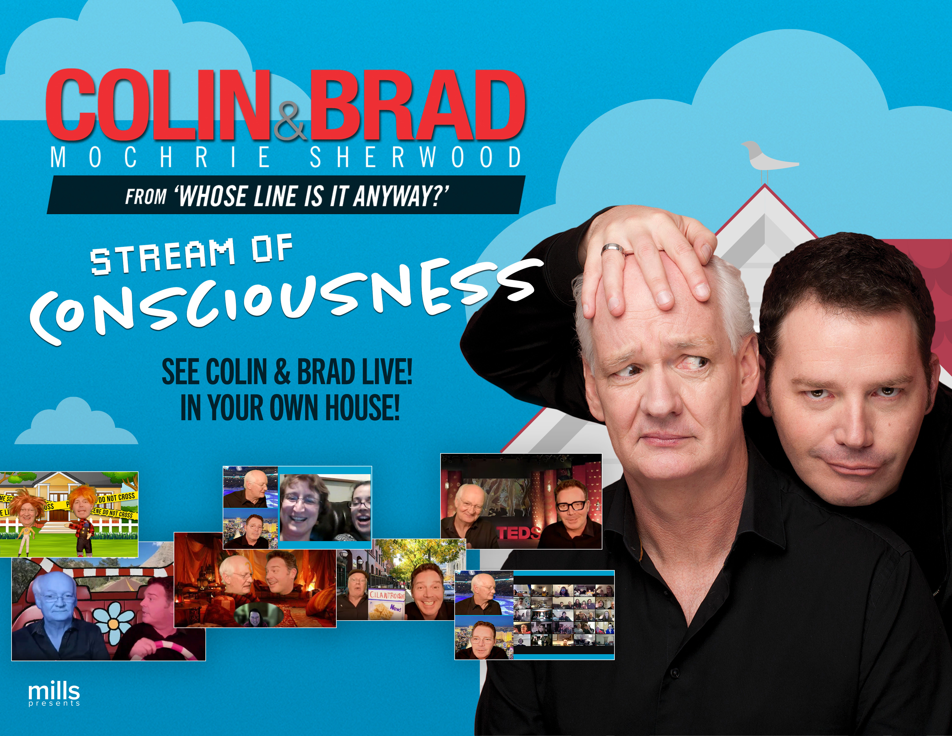 Colin Mochrie & Brad Sherwood: