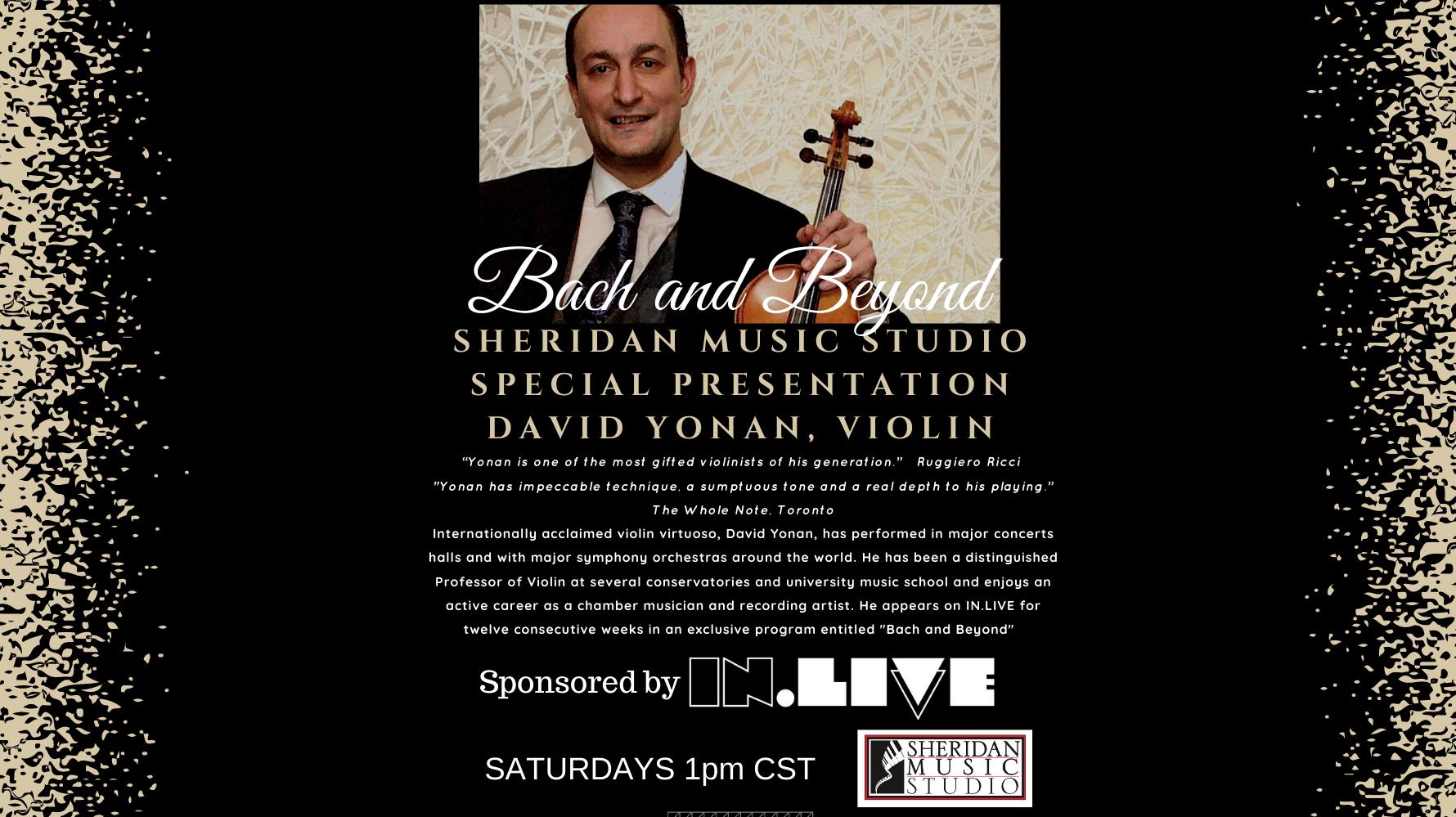 David Yonan: Bach and Beyond Week 7 - Online