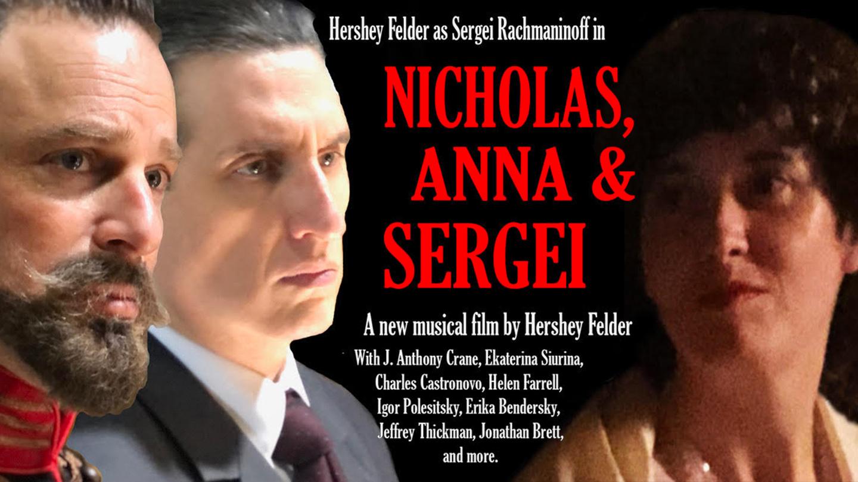 Hershey Felder as Sergei Rachmaninoff in