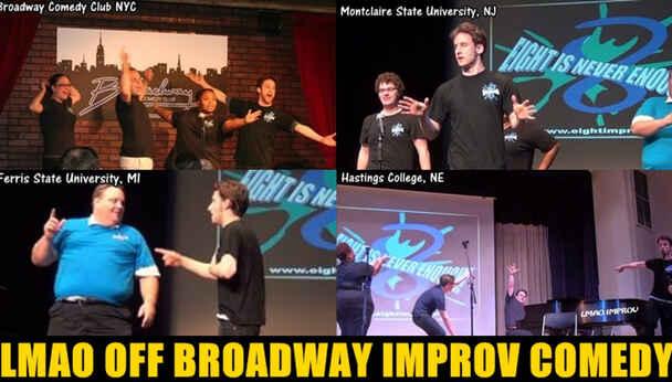 Interactive Musical Improv Comedy: LMAO All-Stars