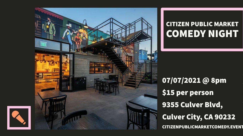 The Setup Presents: Citizen Public Market Comedy Night