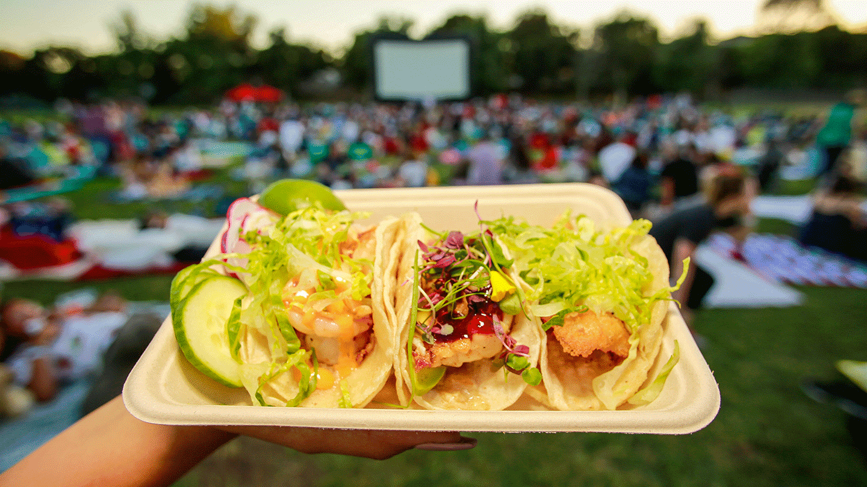 Street Food Cinema: Will Rogers State Historic Park