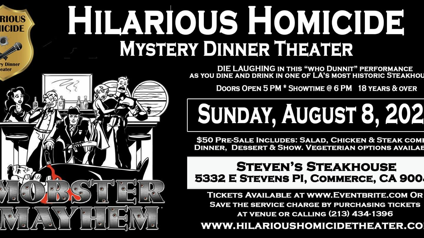 Hilarious Homicide Mystery Dinner Theater
