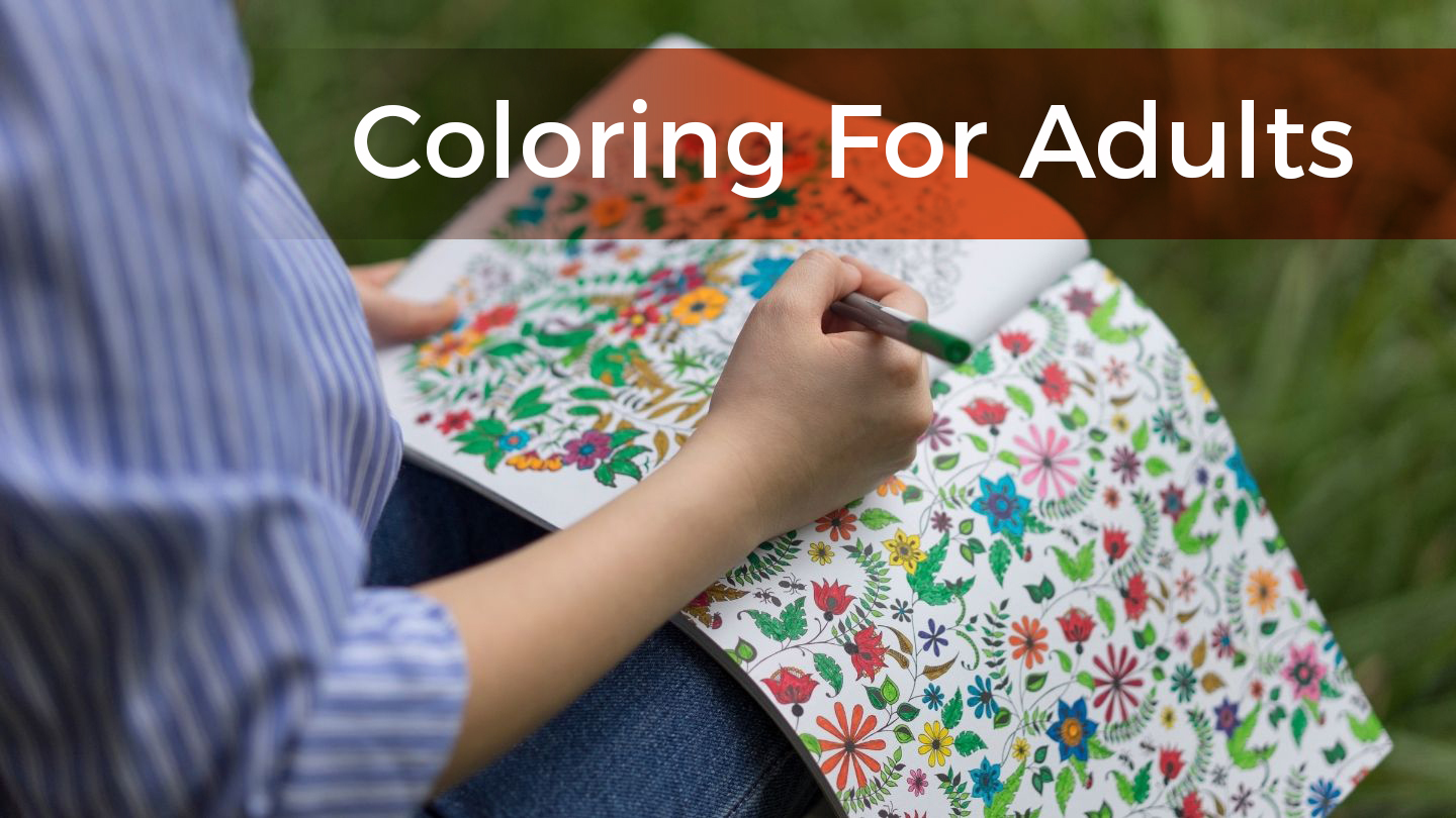Coloring For Adults - Online