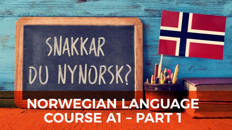 Norwegian Language Course A1 - Part 1 - Online