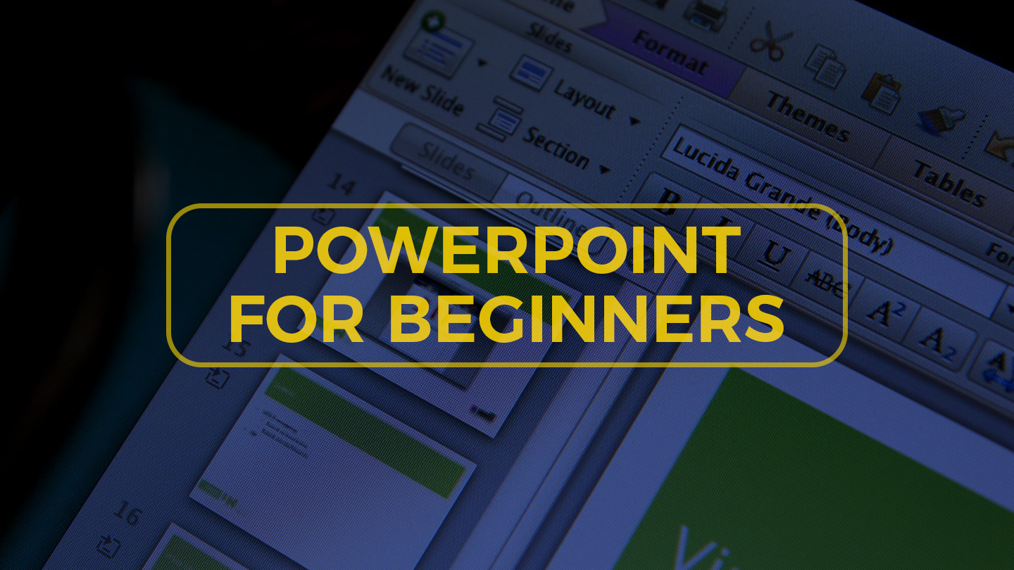PowerPoint For Beginners - Online